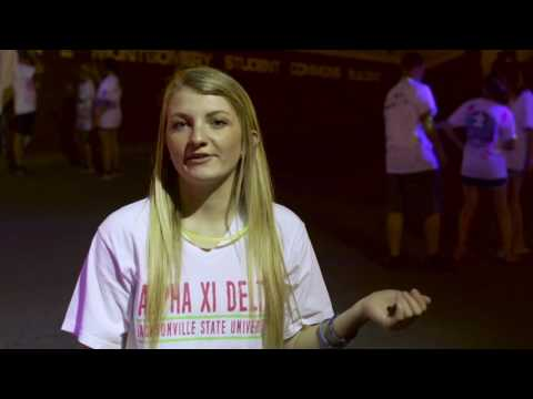 Alpha Xi Delta at Jacksonville State University - Philanthropy 2017