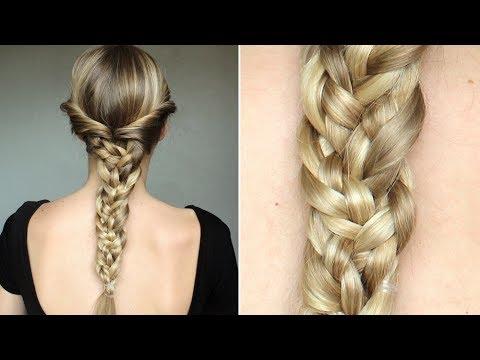 coiffure de tresse facile