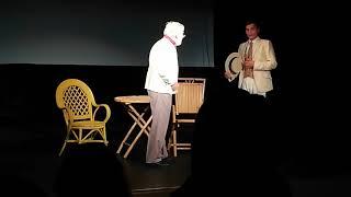 Чехов в Силламяги |театр Другое небо |Силламяэ | сцена жених и папенька