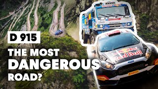 Kamaz Truck And Rally Car Go Head To Head On The World's Most Dangerous Road
