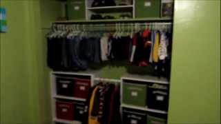 Time To Organize Part 3-kids Closet
