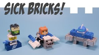 Sick Bricks Get Sucked into the Game Toys Ace Orbit & Bucky Blastoff