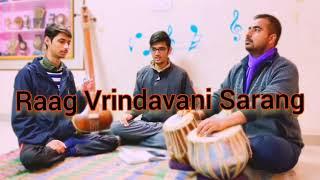 Raag Vrindavani Sarang   Indian Classical Raag   Bandhish Ban Ban Dudhan Jau   Sidhmayi Group