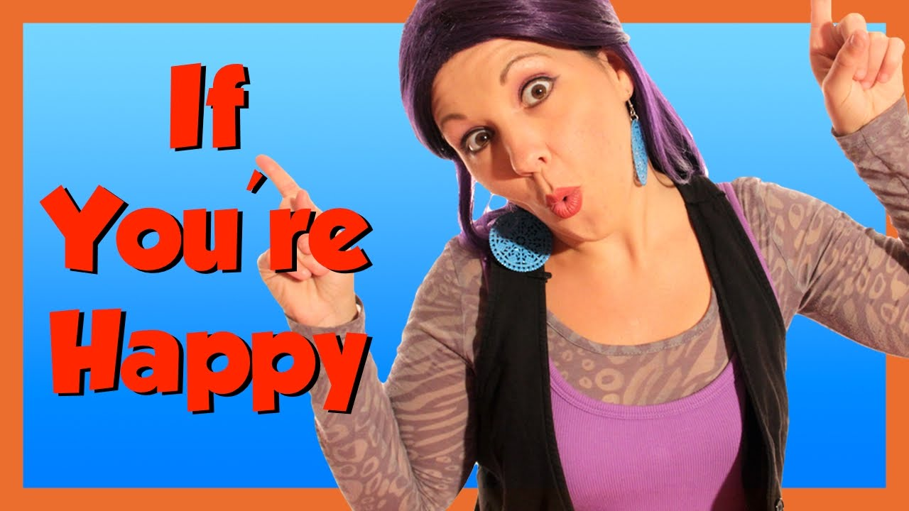 If You're Happy and You Know It - Song with Lyrics for Children - YouTube