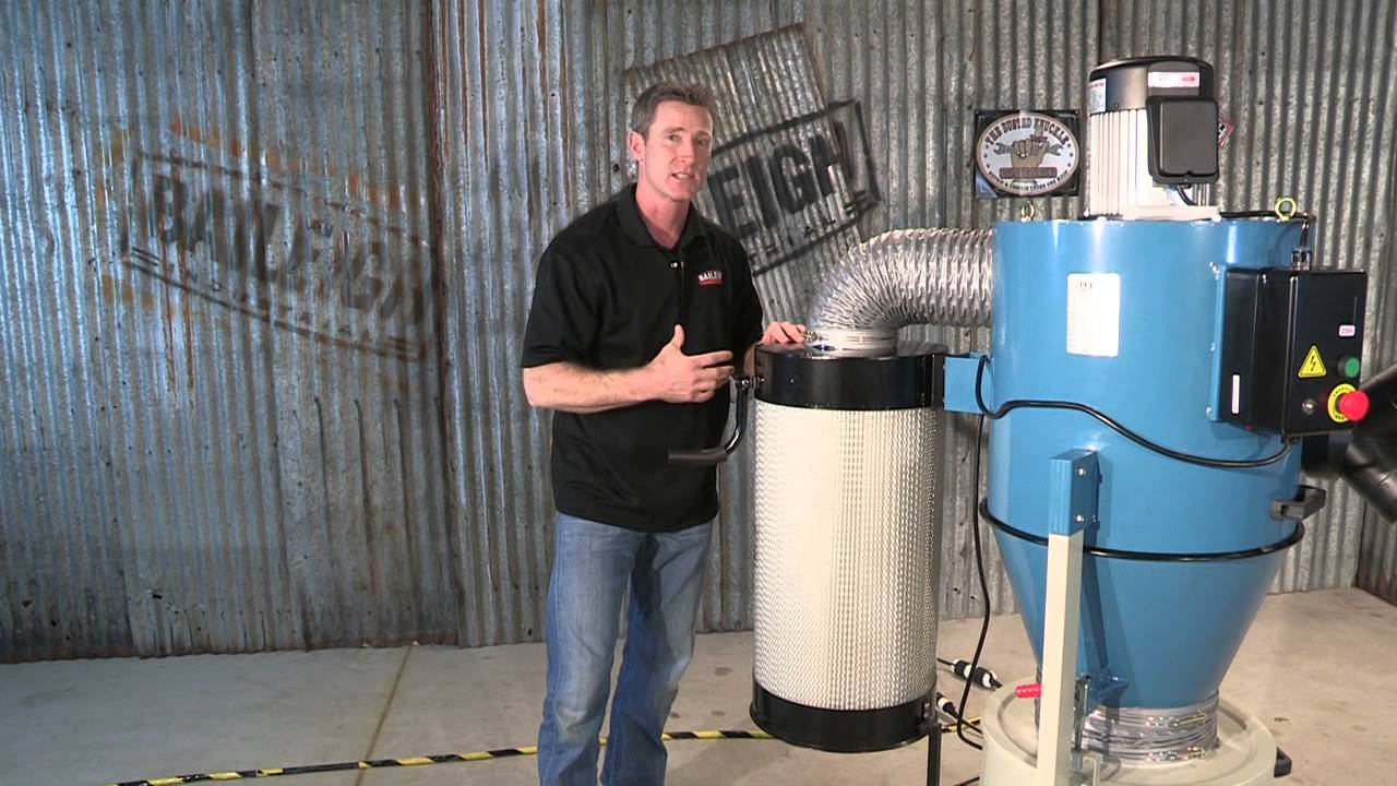 Baileigh Industrial Dc 1450c Cyclone Dust Collector For