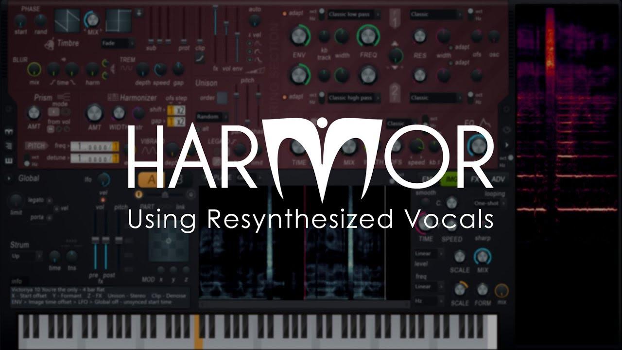 Victoriya Vocals Resynthesized