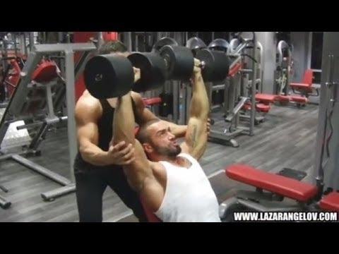 Lazar Angelov Shoulder Workout (Marco Strub)