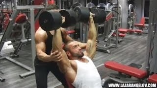 Lazar Angelov Shoulder Workout (Marco Strub)