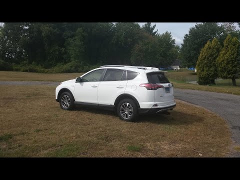 Toyota Rav4 Hybrid - Ride to work, real life drive to work mpg