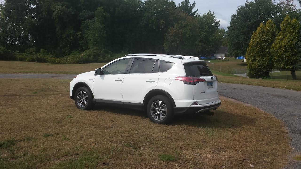 Toyota Rav4 Hybrid Ride To Work Real Life Drive Mpg