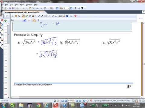 Multiplying and Simplifying Radical Expressions 10 3