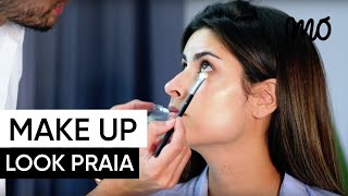 Make up Mo - Look para a Praia