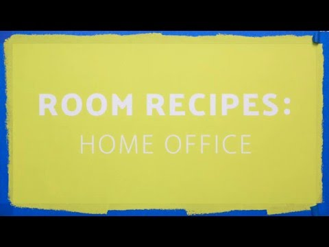 Room Recipe: How to Decorate a Home Office