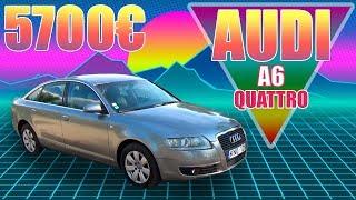 Audi  A6 C6 quattro 2005 года из Литвы за 5700€