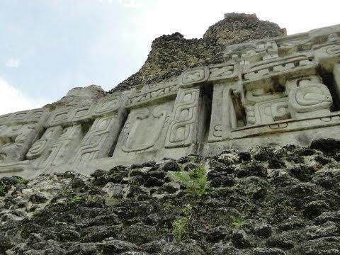 Xunantunich Mayan Ruin Site in Belize, Central America