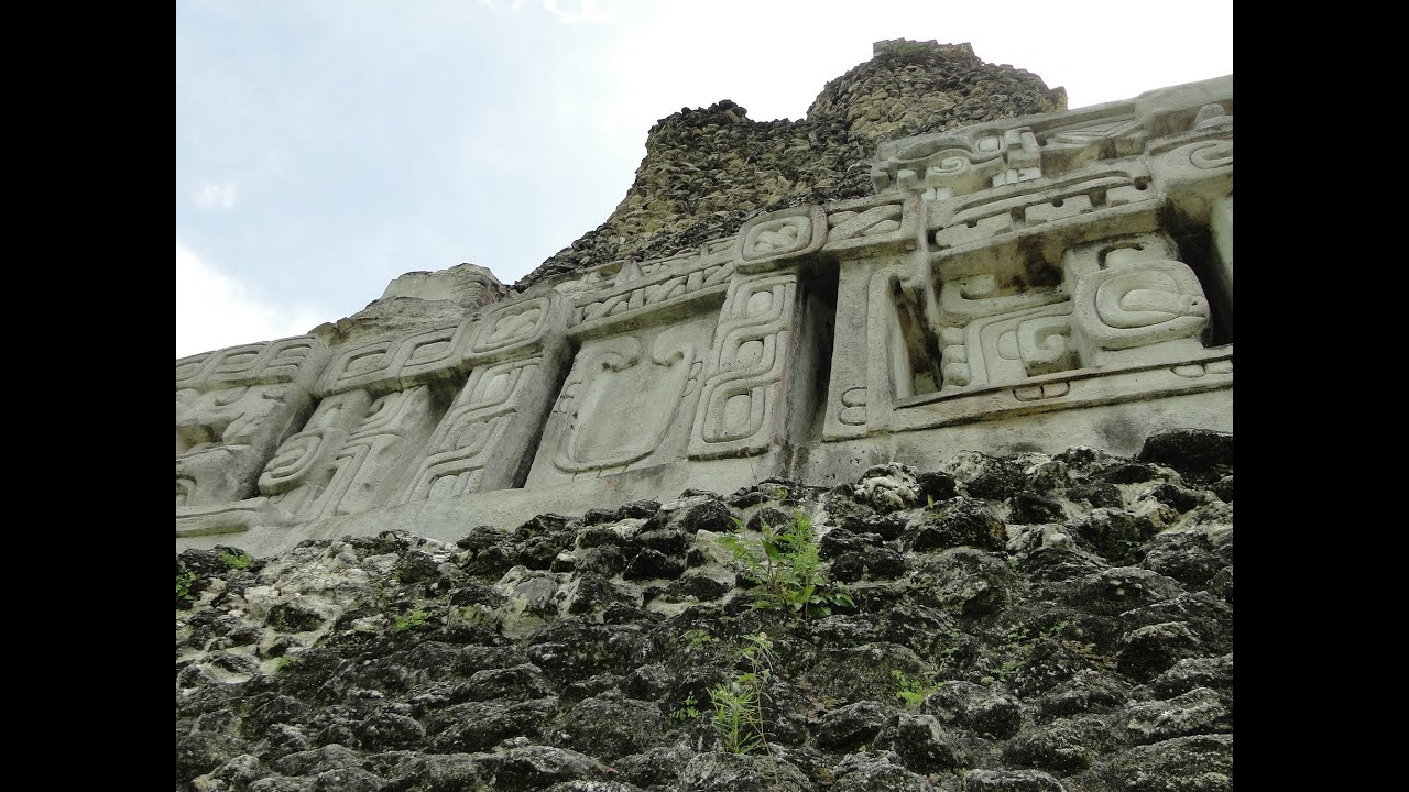 Xunantunich Mayan Ruin Site In Belize Central America YouTube - 7 ancient ruins of central america