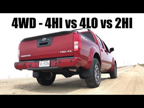 How 4WD Works - 4Hi vs 4Lo vs 2Hi Acceleration Testing