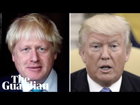 Donald Trump offers US medical help to 'incredible guy' Boris Johnson