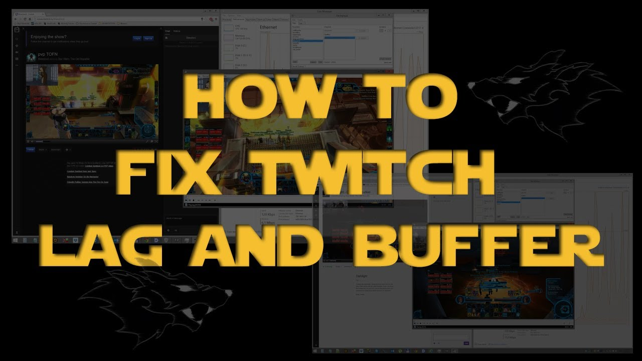 GUIDE: How to FIX Twitch LAG and BUFFERING - Using Tardsplaya