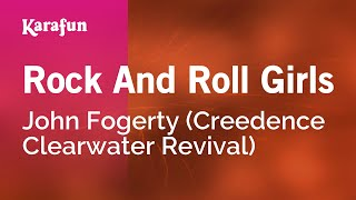 Karaoke Rock And Roll Girls - John Fogerty *