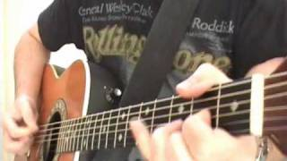 Easy Guitar Lessons For Ring Of Fire By Johnny Cash Scott Grove