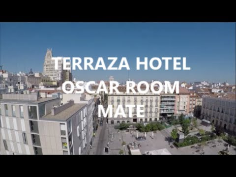 Terraza Hotel Oscar Room Mate Madrid Youtube