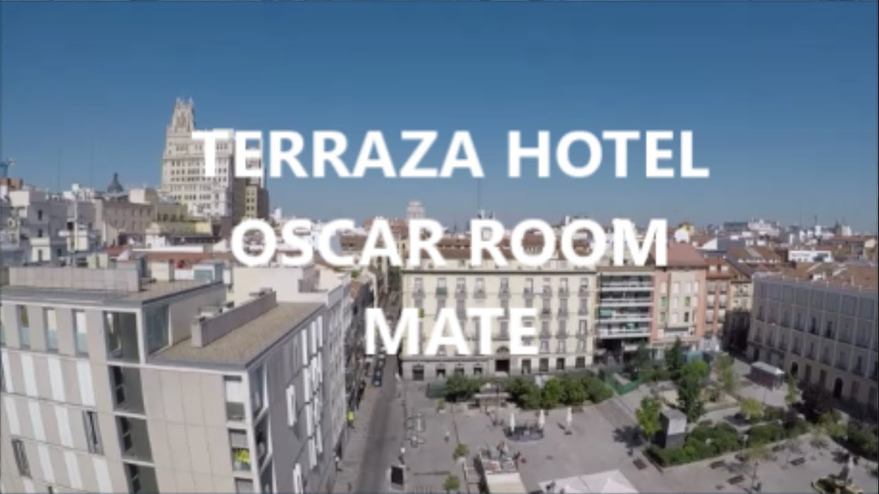 Terraza Hotel Oscar Room Mate Madrid