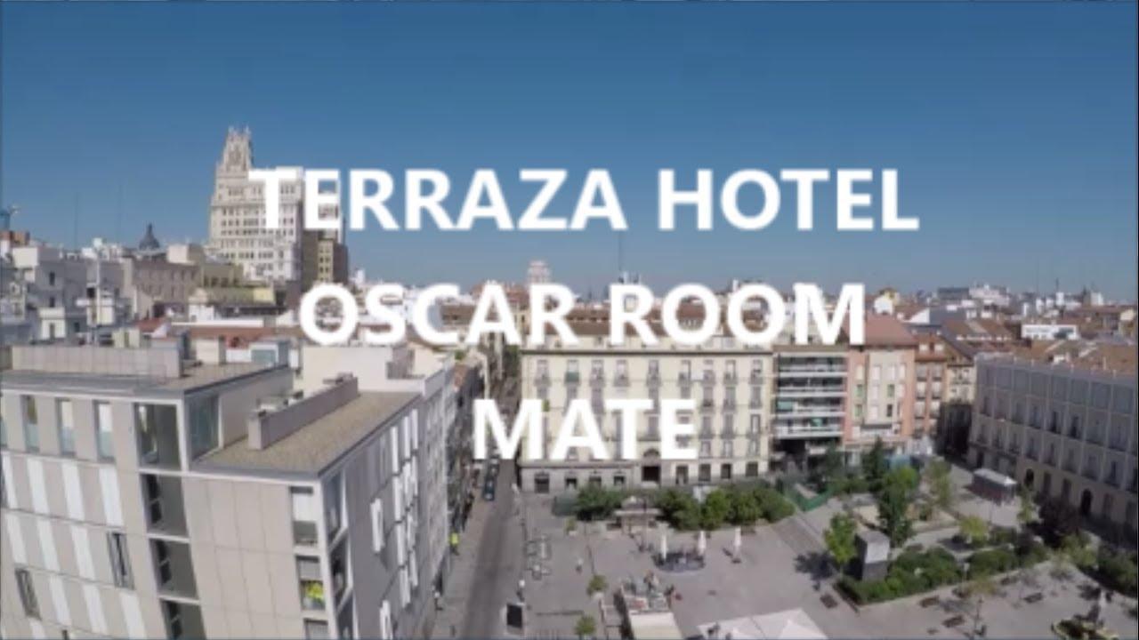 Terraza Hotel Oscar Room Mate Madrid