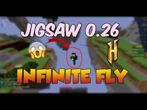 JIGSAW 0.26 : INFINITE HYPIXEL FLY ?? | Hacking Montage #10