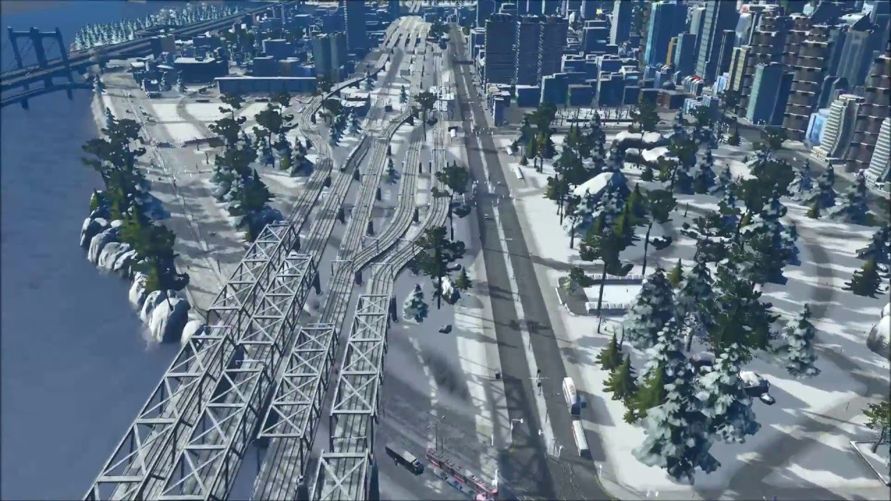 welcome to the snowy coast wip city showcase youtube