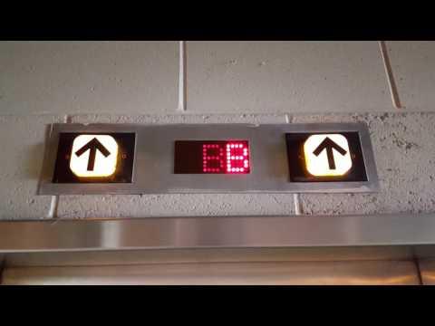 Scenic Dover/TK Impulse Traction Elevators @ Pioneer Parking, Rockford, IL (2017 Retake)