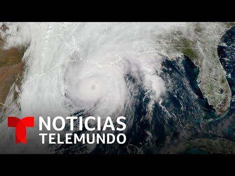 Impresionantes imágenes del huracán Zeta desde el espacio   Noticias Telemundo