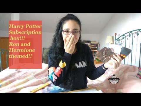 Hermione and Ron themed Shipping ship/ Subscription box | Geo Kuromi