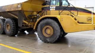 2006 Caterpillar 740 articulated dump truck Demo
