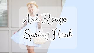 ♡ ANK ROUGE HAUL | Spring 2018 Items and More! | xsakisaki ♡