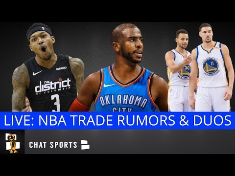 NBA Rumors, Chris Paul Trade Latest, Kevin Love, Bradley Beal, Andre Iguodala & Best Duos In The NBA