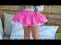 Como hacer falda con canes Revista patrones infantiles n º 4