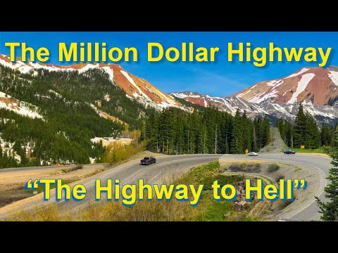 The Most Dangerous Road In America - The Million Dollar Highway