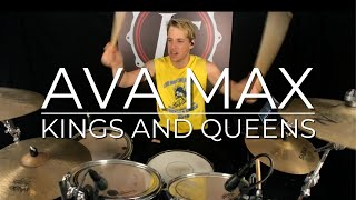 AVA MAX - Kings and Queens (Drum Cover) | JF Nolet