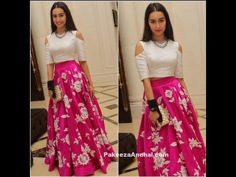 Latest Design Of CropTop With Long Skirt - YouTube