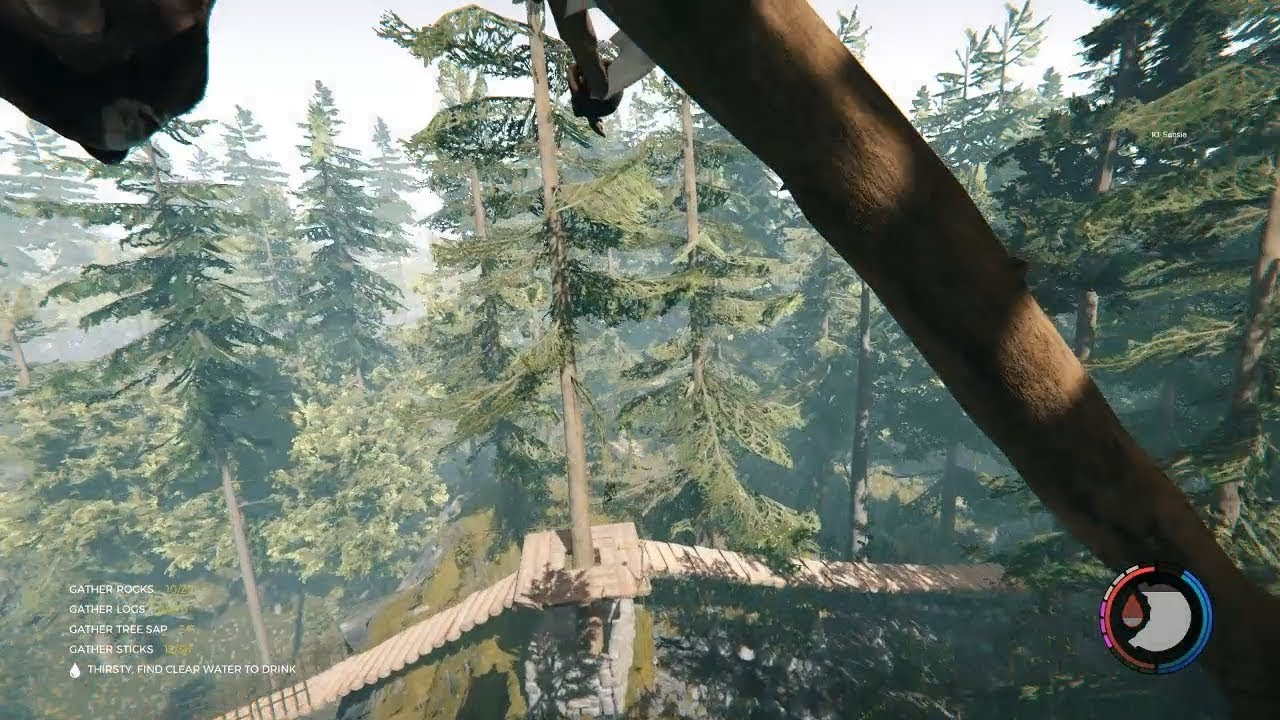 THE FOREST - GLIDER FLYING THROUGH THE WHOLE MAP - YouTube on