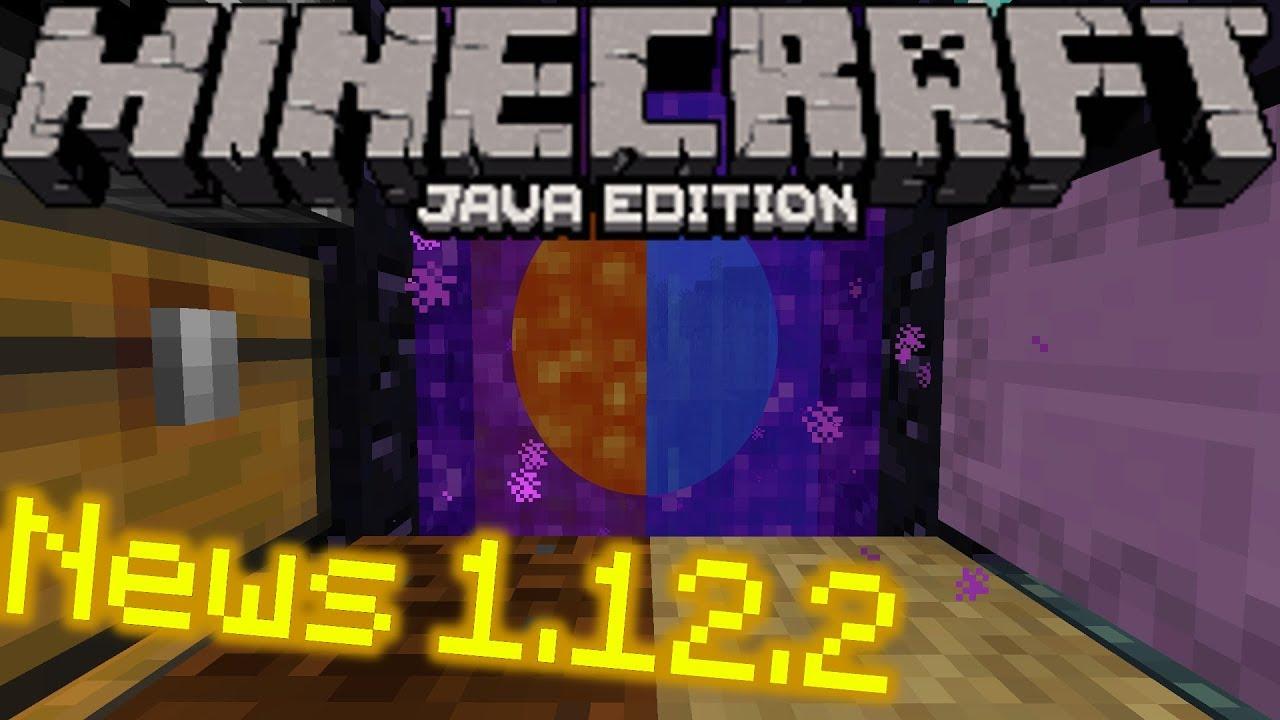 minecraft java edition 1.12.2