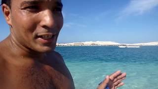تعليم السباحه للمبتدئين في البحر الحلقه الاولى