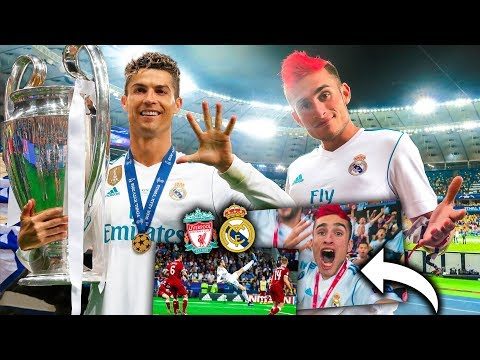 REACCIONANDO A LA CHILENA DE BALE EN KIEV | Real Madrid 3-1 Liverpool | FINAL CHAMPIONS LEAGUE