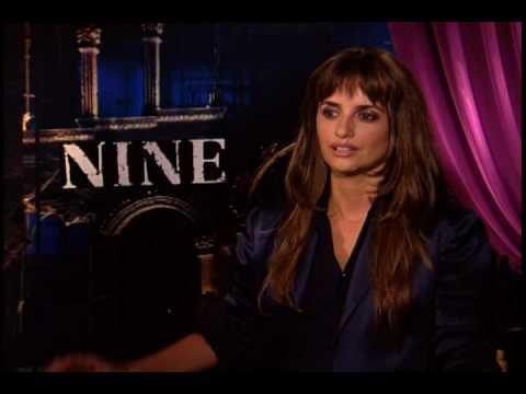 Penelope Cruz interview for Nine.