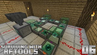 Surviving With RFTools :: E06 - Endergenic Generator