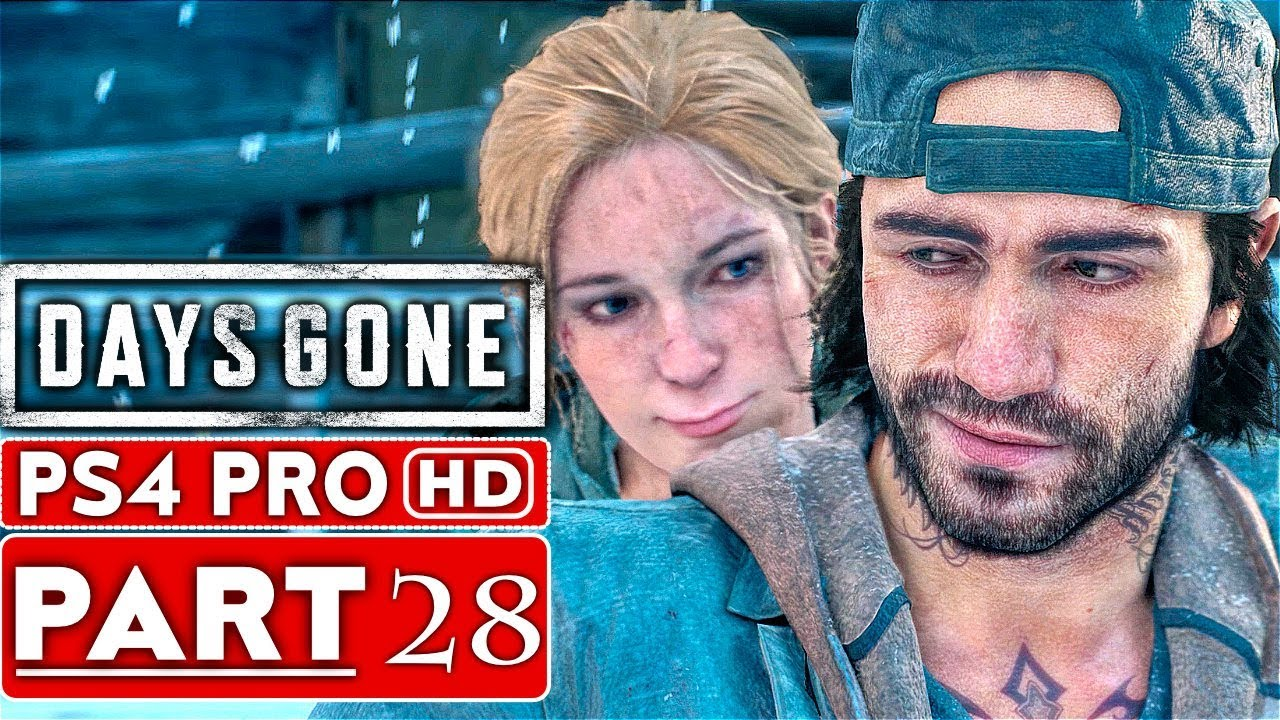 DAYS GONE Gameplay Walkthrough Part 28 [1080p HD PS4 PRO] - No Commentary