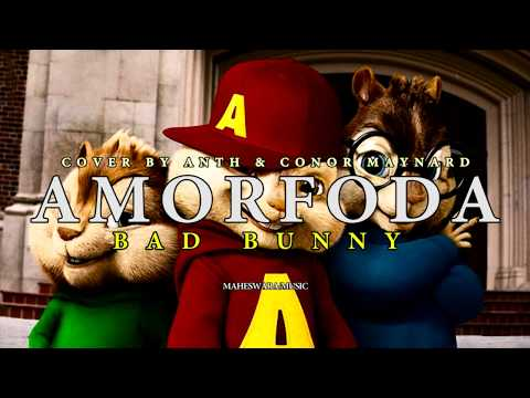 Bad Bunny - Amorfoda (Alvin Chipmunks Voices Version)