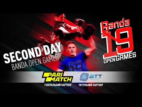 Banda Open Games 2019 | DAY 2 | CrossFit BANDA