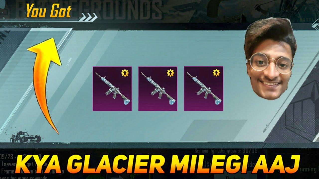 M416 Glacier Skin Milegi Kya Aaj ??? - SAMSUNG,A3,A5,A6,A7,J2,J5,J7,S5,S6,S7,59,A10,A20,A30,A50